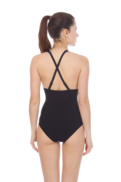 ARENA W KATE LIGHT CROSS BACK ONE PIECE (000386)