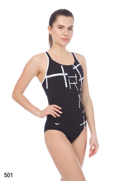 ARENA W JODIE STRAP BACK ONE PIECE (000392)