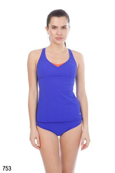 ARENA W ALICIA LIGHT CROSS BACK TANKINI (000395)