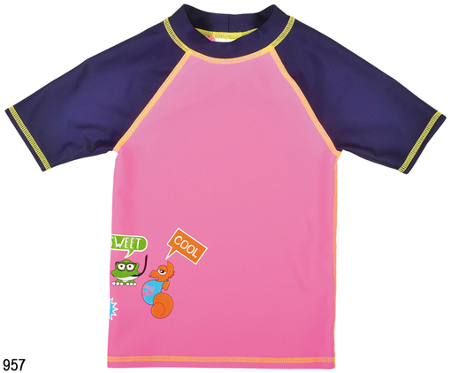 ARENA AWT KIDS GIRL UV S/S TEE (000438)