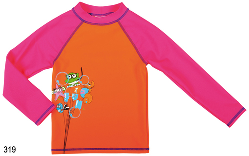 ARENA AWT KIDS GIRL UV L/S TEE (000439)