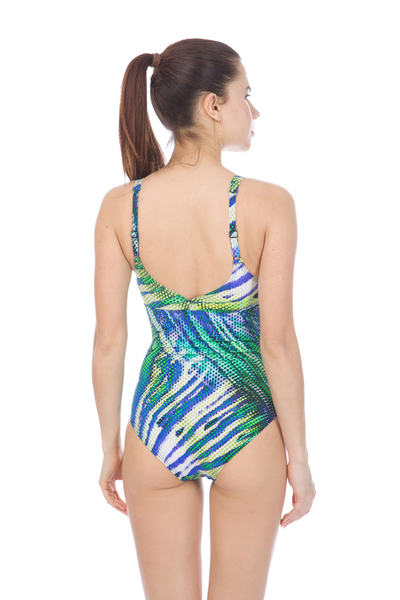 ARENA W DEMI WING BACK ONE PIECE C-CUP (000692)
