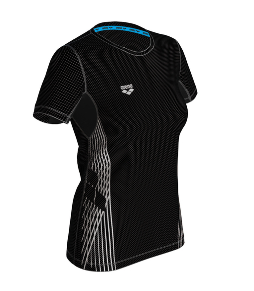 ARENA RUN S/S MESH SOLID W (000955)