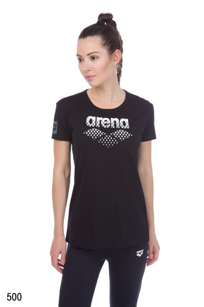 ARENA W ESSENTIAL S/S BIG LOGO TEE (001036)