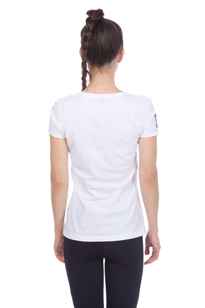 ARENA W ESSENTIAL S/S LOGO TEE (001037)