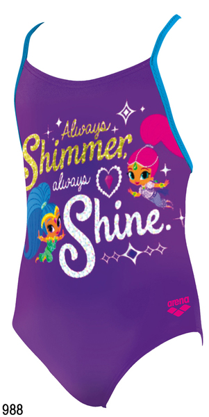 ARENA KIDS GIRL SHIMMER SHINE (001172)