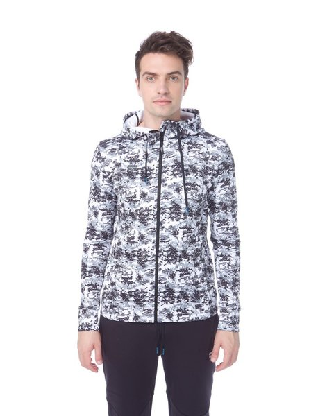 ARENA GYM HOODED F/Z SPACER JACKET M (001216)