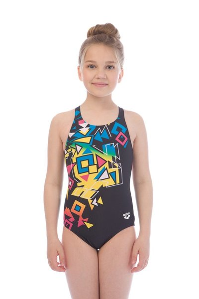 ARENA BRICKS JR SWIM PRO BACK L (001312)