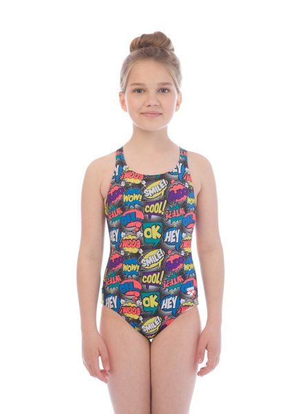 ARENA TEEN JR SWIM PRO BACK ONE PIECE L (001321)