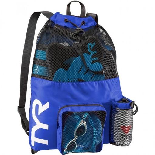 Рюкзак для аксессуаров TYR Big Mesh Mummy Backpack (428 Голубой)