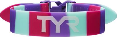 Фиксатор ног для плавания TYR Rally Training Pull Strap (678 Розовый/Фиолетовый/Ментоловый)