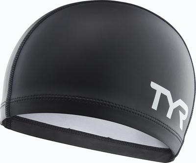 Шапочка для плавания TYR Silicone Comfort Swim Cap (100 Белый)