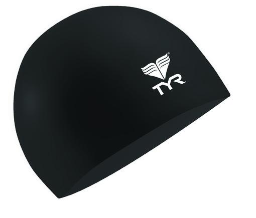Шапочка плавательная TYR Latex Swim Cap (428 Голубой)