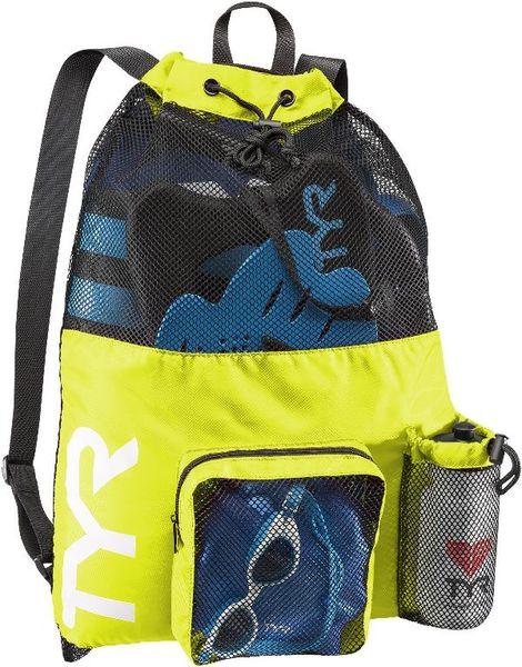 Рюкзак для аксессуаров TYR Big Mesh Mummy Backpack (730 Светло-желтый)