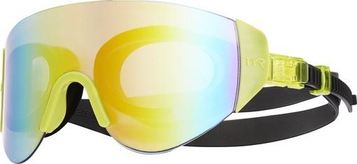 Очки для плавания TYR Renegade Swimshades Mirrored (968 Радужный/Ярко-Желтый/Черный)