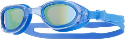 Очки для плавания TYR Special Ops 2.0 Jr. Polarized (757 Золотой/Голубой/Голубой)