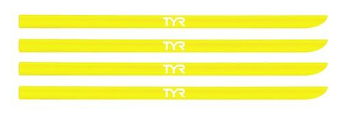 Набор резинок для лопаток TYR Hand Paddle Strap Kit (730 Желтый)