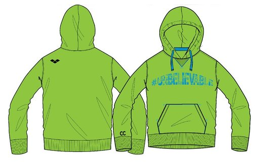 ARENA C LE C UNBELIVE HOODED SWEET (1B198)