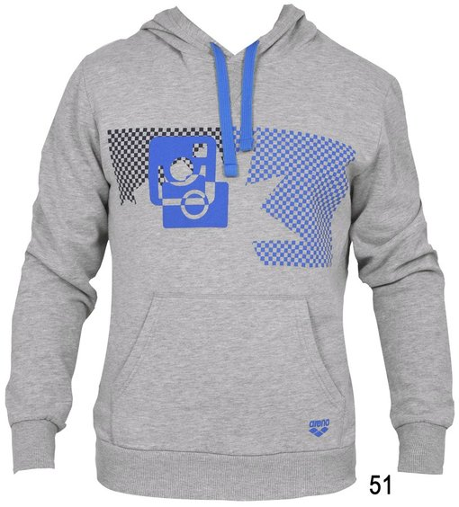ARENA Толстовка Separates hooded sweat Ska (1D042)