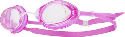 Очки для плавания TYR Tracer Junior Racing (152 Прозрачный/Розовый/Розовый)