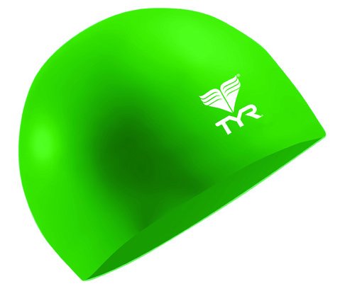 Шапочка плавательная TYR Latex Swim Cap (310 Зеленый)
