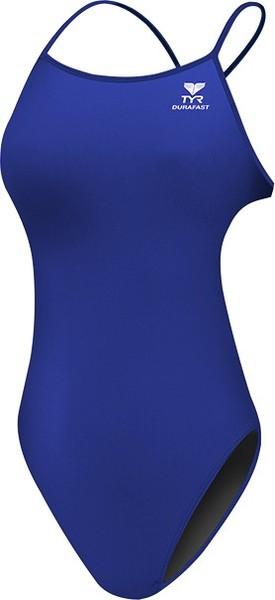 Купальник детский TYR Solid F Thin-X Fit (428 Голубой)