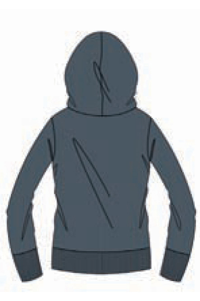 ARENA SEPARATES HOODED SWEAT WRITE (1D225)