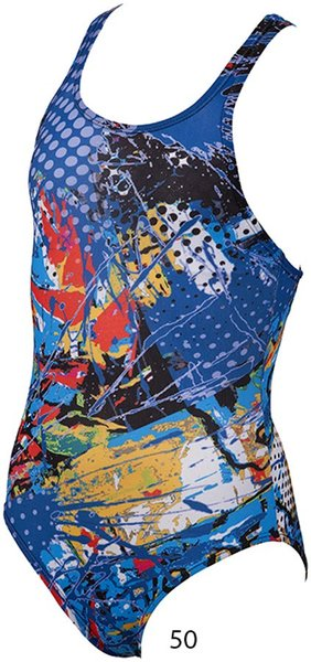 ARENA Carioca jr one piece swim pro back (23841)