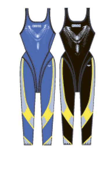 Гидрокостюмы Arena Костюм для плавания ZIP FULL LEG SUIT (25139)