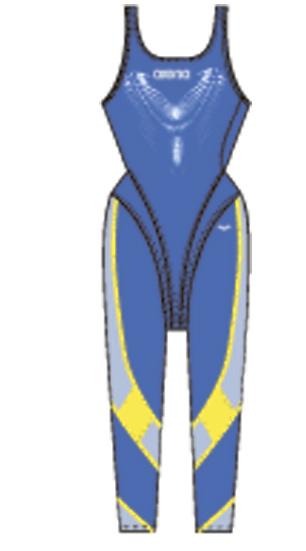 Гидрокостюмы Arena Костюм для плавания FULL LEG SUIT (25143)