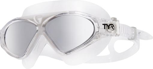Маска для плавания TYR Magna Swim Mask Polarized (043 Серебристый/Черный/Прозрачный)