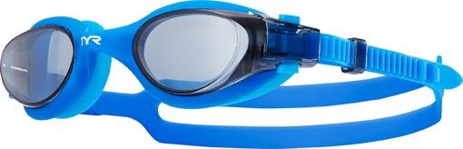 Очки для плавания TYR Vesi (217 Голубой/Прозрачный)