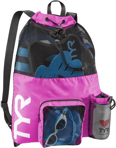 Рюкзак для аксессуаров TYR Big Mesh Mummy Backpack (670 Розовый)