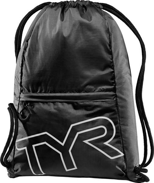 Рюкзак-мешок TYR Drawstring Backpack (001 Черный)