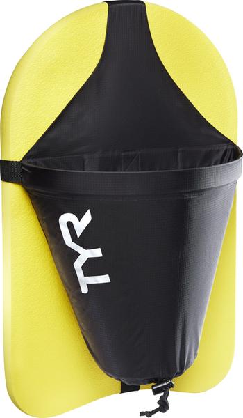 Тормозной парашют для доски TYR Riptide Kickboard Attachment (001 Черный)