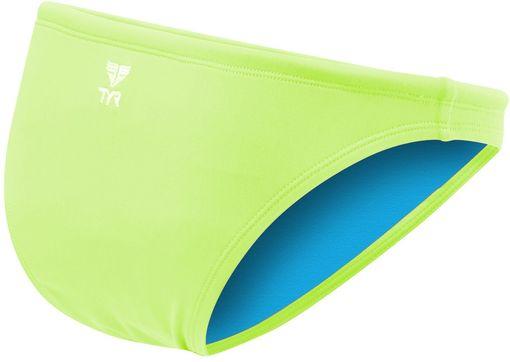 Плавки TYR Solid Mini Bikini Bottom (730 Светло-желтый)