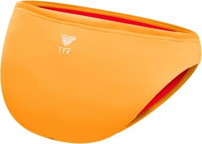 Плавки TYR Solid Classic Bikini Bottom (820 Светло-оранжевый)