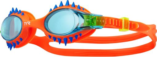 Очки для плавания TYR Swimple Spikes (156 Дымчатый/Голубой/Голубой)