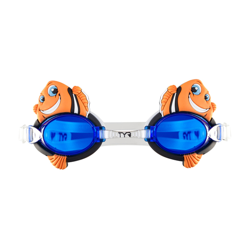 Очки для плавания TYR Charactyrs Happy Fish (810 Оранжевый)