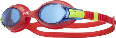 Очки для плавания TYR Swimples (424 Голубой/Красный/Красный)