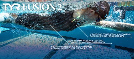 Гидрокостюм TYR Fusion 2 Aerofit Short John (001 Черный)
