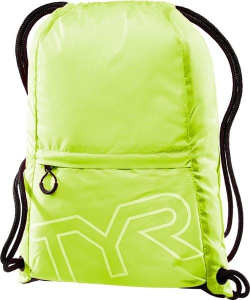 Рюкзак-мешок TYR Drawstring Backpack (730 Светло-желтый)
