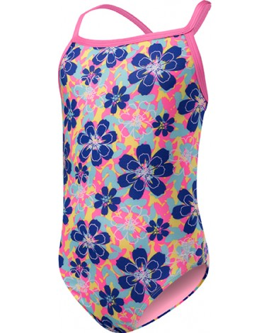 Купальник детский TYR Girls' Poppy Diamondfit (810 Оранжевый)