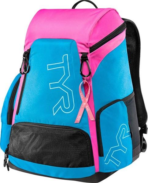 Рюкзак TYR Alliance 30L Backpack PINK (BCRF) (371 Голубой/Розовый)