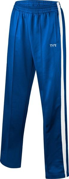 Брюки спортивные TYR Men'S Freestyle Warm-Up Pants (473 Голубой/Белый)