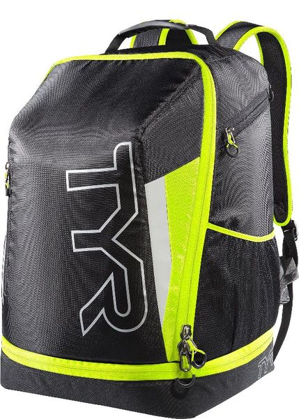 Рюкзак TYR Apex Transition Bag (094 Черный/Светло-желтый)