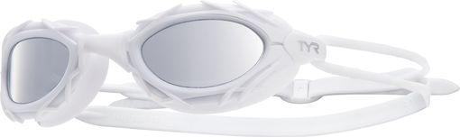 Очки для плавания TYR Nest Pro Nano Mirrored (100 Серебристый/Белый/Белый)