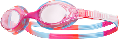 Очки для плавания TYR Swimple Tie Dye (667 Розовый/Розовый/Белый)
