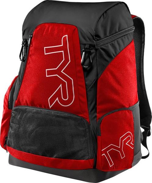 Рюкзак TYR Alliance 45L Backpack (640 Красный/Черный)