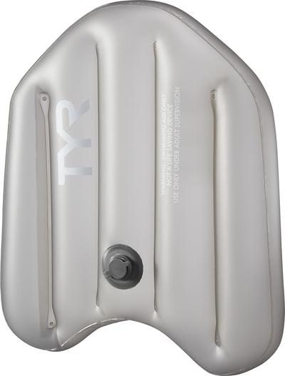 Надувная доска  TYR Inflatable Kickboard (019 Серый)